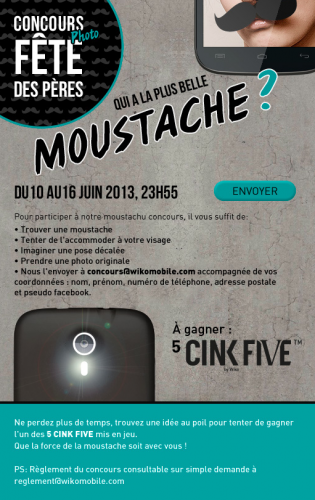 WIKO CONCOURS