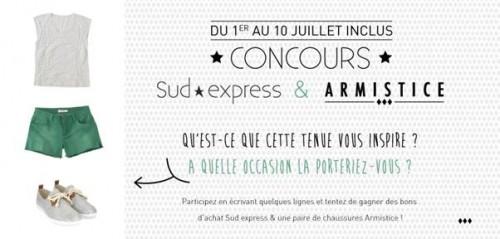 Jeu Facebook : Sud express & Armistice