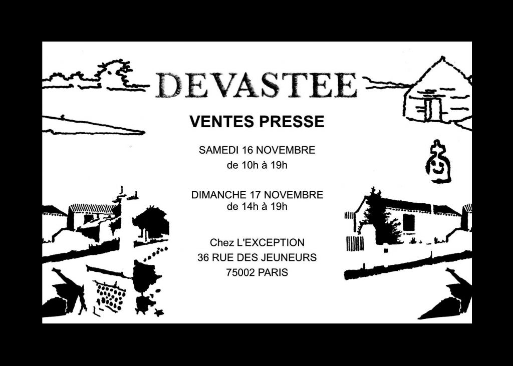 Invitation - Ventes Presse