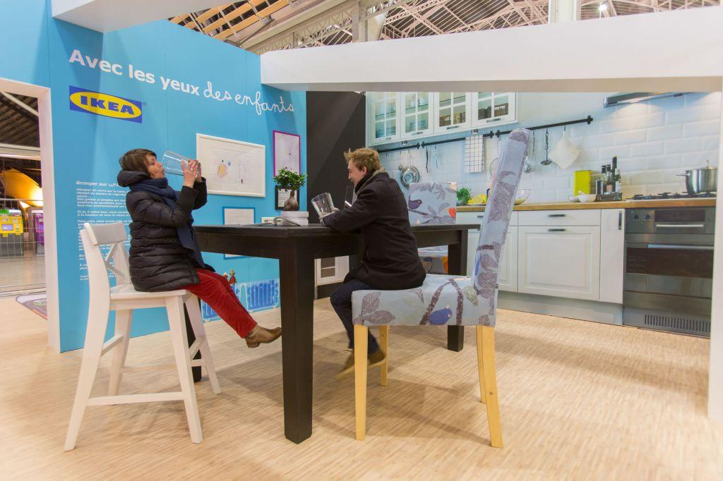 IKEA Avec les yeux des enfants Gare de Lyon 3 (1)