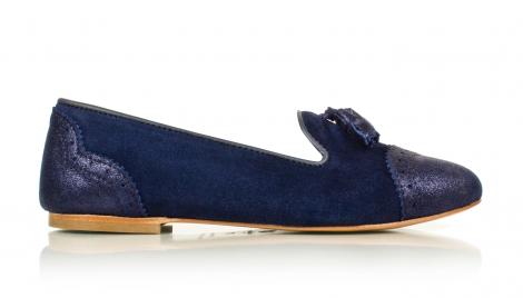 slippers-bleu-nuit-bobbies-fanfaronne