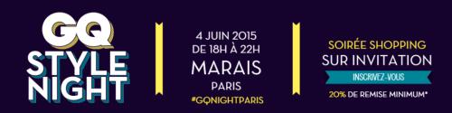 GQ Style Night Paris