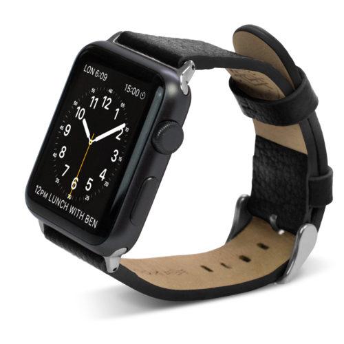 Apple Watch X-Doria Lux-Band-for-Apple-Watch-38mm-Black_Obsession-Luxe_Plaisir-de-la-Vie